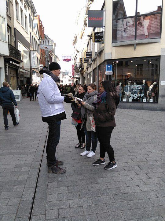 vegan outreach in Mechelen