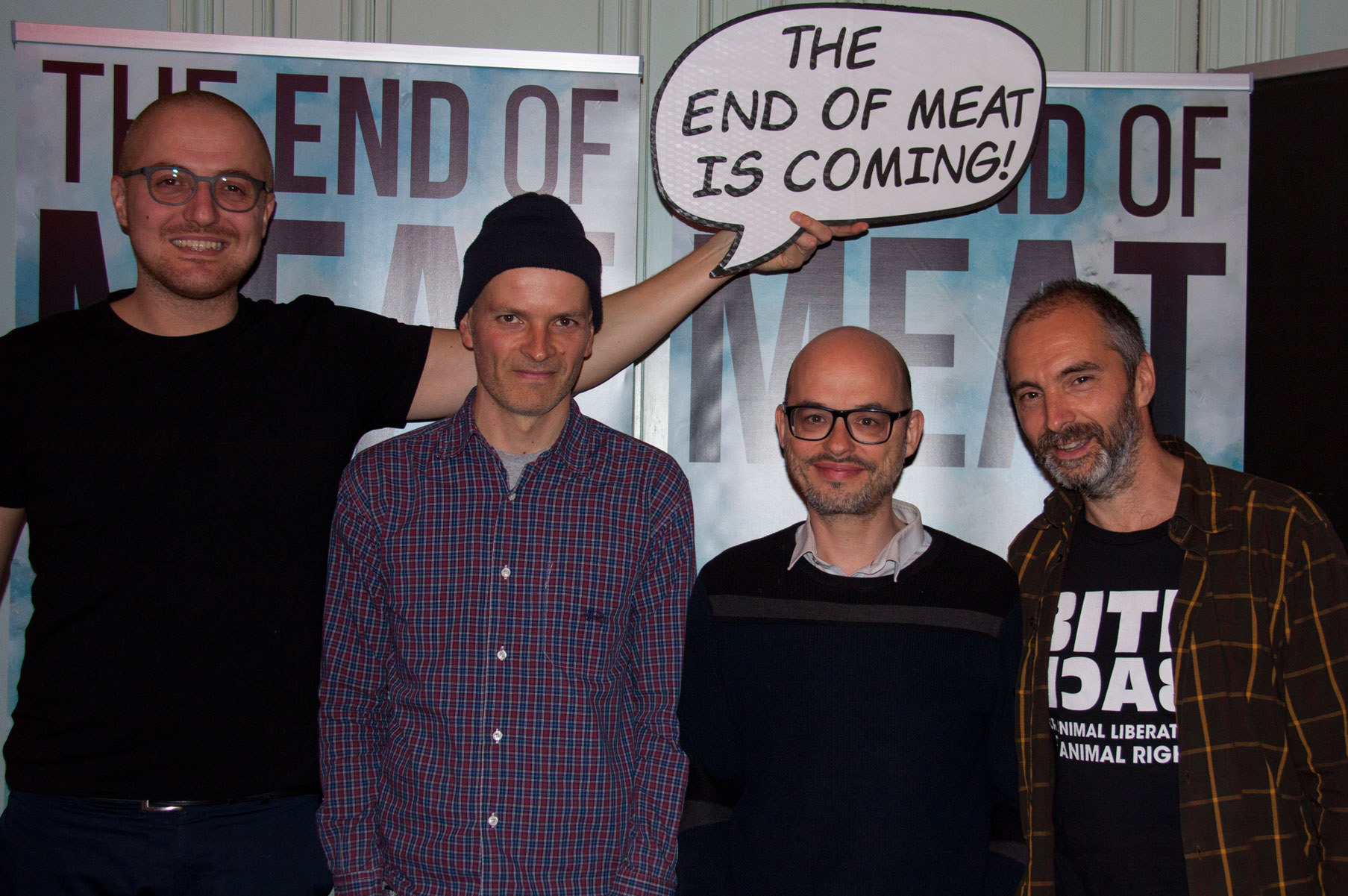 Belgische première van The End of Meat