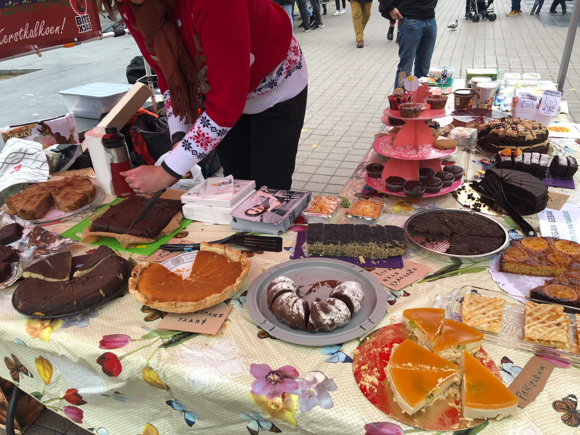 Winter bake sale Antwerpen