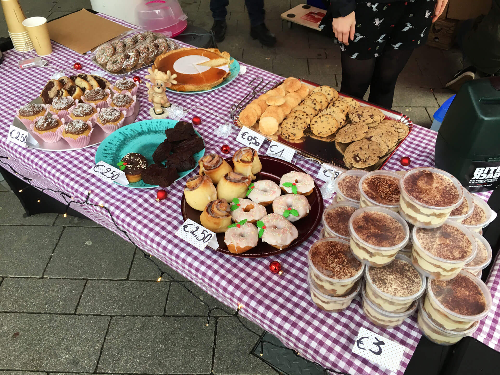 Winter bake sale Hasselt