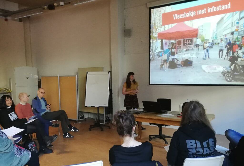 vegan outreach workshop Antwerpen